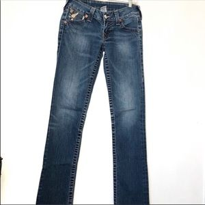 True Religion straight jeans size 26